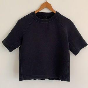 lululemon NTS Cropped Short Sleeve Sweater Sz6